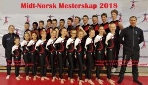 Påmelding Midt-Norsk Mesterskap 2018